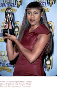 """Lady Of Soul Train Awards - 5th Annual,""Deborah Cox.  9/3/99. © 1999 Glenn Weiner - Image 16977_0106"