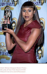 """Lady Of Soul Train Awards - 5th Annual,""Deborah Cox.  9/3/99. © 1999 Glenn Weiner - Image 16977_0106"