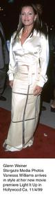 """""""Light It Up"""" Premiere,Vanessa William.  11/4/99. © 1999 Glenn Weiner - Image 16978_0100"""