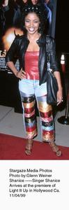 """Light It Up"" Premiere,Shanice.  11/04/99. © 1999 Glenn Weiner - Image 16978_0104"