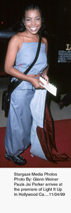 """Light It Up"" Premiere,Paula Jai Parker.  11/04/99. © 1999 Glenn Weiner - Image 16978_0105"