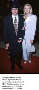 """Light It Up"" Premiere,Judd Nelson and girlfriendKelly Stafford.  11/04/99. © 1999 Glenn Weiner - Image 16978_0106"