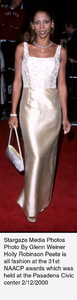 """NAACP Image Awards - 31st,""Holly Robinson Peete.  2/12/00. © 2000 Glenn Weiner - Image 16983_0101"