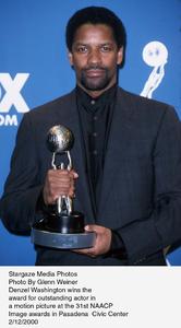"""""""NAACP Image Awards - 31st,""""Denzel Washington.  2/12/00. © 2000 Glenn Weiner - Image 16983_0105"""