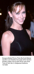 """""""Time Of Your Life"""" Party,Jennifer Love Hewitt.10/19/99. © 1999 Scott Weiner - Image 16995_0102"""