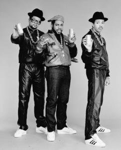 Run DMC (Darryl McDaniels, Jason Mizell, Joseph Simmons)1988 © 2009 Bobby Holland - Image 17002_0001
