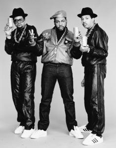 Run DMC (Darryl McDaniels, Jason Mizell, Joseph Simmons)1988 © 2009 Bobby Holland - Image 17002_0002
