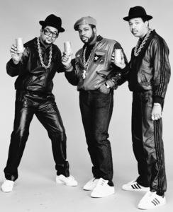 Run DMC (Darryl McDaniels, Jason Mizell, Joseph Simmons)1988 © 2009 Bobby Holland - Image 17002_0003