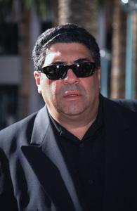"""""""Inside The Sopranos,""""Vincent Pastore.  7/17/00. © 2000 Glenn Weiner - Image 17013_0006"""