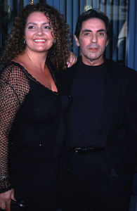 """Inside The Sopranos,""Aida Turturro and David Proval.7/17/00. © 2000 Glenn Weiner - Image 17013_0010"
