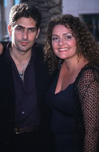 """Inside The Sopranos,""Micahel Imperioli and Aida Turturro.7/17/00. © 2000 Glenn Weiner - Image 17013_0012"