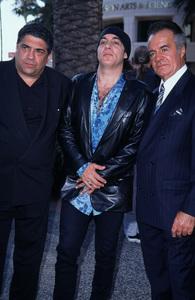 """Inside The Sopranos,""Vincentn Pastore, Steven Van Zandt, & Tony Sirico.  7/17/00. © 2000 Glenn Weiner - Image 17013_0013"