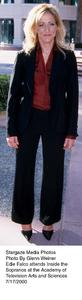 """Inside The Sopranos,""Edie Falco.  7/17/00. © 2000 Glenn Weiner - Image 17013_0101"