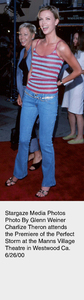 """""""Perfect Storm, The"""" Premiere,Charlize Theron.  6/26/00. © 2000 Glenn Weiner - Image 17015_0104"""