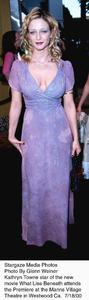 """""""What Lies Beneath"""" Premiere,Kathryn Towne.  7/18/00. © 2000 Glenn Weiner - Image 17020_0104"""