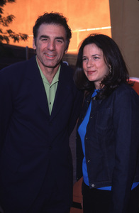 """NBC Press Tour Party - 2000,""Michael Richards & Amy Farrington.7/19/00. © 2000 Glenn Weiner - Image 17024_0010"