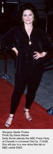 """""""NBC Press Tour Party - 2000,""""Delta Burke.  7/19/00. © 2000 Glenn Weiner - Image 17024_0103"""
