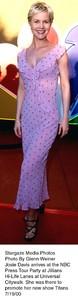 """""""NBC Press Tour Party - 2000,""""Josie Davis.  7/19/00. © 2000 Glenn Weiner - Image 17024_0104"""