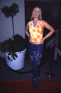 """WB Summer Press Party - 2000,""Dee Dee Pfeiffer.  7/24/00. © 2000 Glenn Weiner - Image 17046_0020"