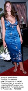 """""""WB Press Tour Party - 2000,""""Nikki Cox.  7/24/00. © 2000 Scott Weiner - Image 17046_0100"""