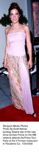 """WB Press Tour Party - 2000,""Lindsay  Sloane.  7/24/00.@ 2000 Scott Weiner - Image 17046_0102"