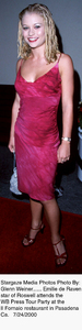 """""""WB Press Tour Party - 2000,""""Emilie de Raven.  7/24/00. © 2000 Glenn Weiner - Image 17046_0104"""