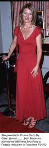 """WB Press Tour Party - 2000,""Beth Broderick.  7/24/00. © 2000 Glenn Weiner - Image 17046_0106"