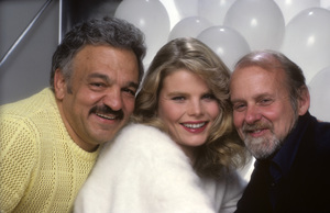 """Photographer Mario Casilli with Mariel Hemingway and director Bob Fosse during a photo shoot for the film, """"Star 80""""1982© 1982 Mario Casilli - Image 17060_0016"""