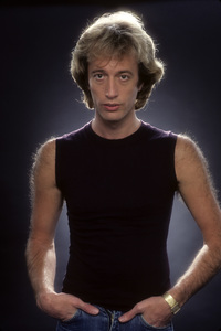 """""""The Bee Gees""""Robin Gibb1983 © 1983 Mario Casilli - Image 17083_0006"""