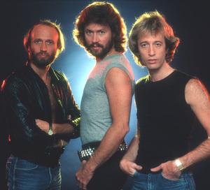 Bee GeesMaurice Gibb, Barry Gibb, Robin Gibb 1983 © 1983 Mario Casilli - Image 17083_0029