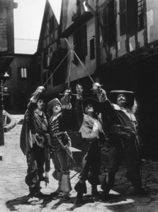 Douglas Fairbanks, Leon Bary, George Siegmann, Eugene Pallette.Three Musketeers, The (1921)**I.V. - Image 17091_0001