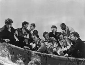 """Lifeboat""W. Selzak, J. Hodiak, T. Bankhead, H. HullW. Bendix, H. Angel, M. Anderson, C. Lee, H. Cronyn1944 20th **I.V. - Image 17092_0006"