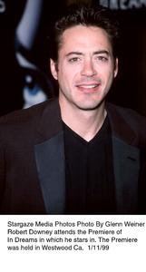 """""""In Dreams"""" Premiere,Robert Downey Jr.  1/11/99. © 2000 Glenn Weiner - Image 17106_0100"""