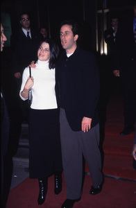 """""""What Planet Are You From"""" Premiere,Jerry Seinfeld & wife Jessica Sklar. © 2000 Ariel Ramerez - Image 17130_0003"""