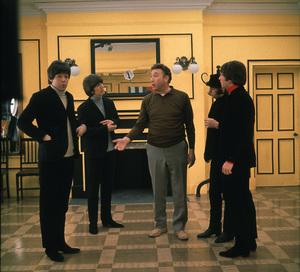 """""""Help!""""Paul McCartney, George Harrison, Frankie Howerd, Ringo Starr, John Lennon1965 United ArtistsPhoto by David Hurn** I.V. - Image 17132_0004"""