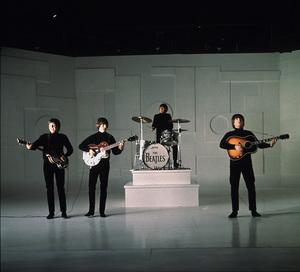 """Help!"" The Beatles:Paul McCartney, John Lennon, Ringo Starr,George Harrison.1965/UAPhoto by David Hurn/**I.V. - Image 17132_0007"