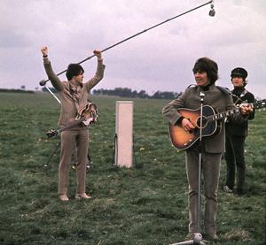"""Help!"" Paul McCartney, Ringo Starr,and George H arrison;1965/UAPhoto by David Hurn/**I.V. - Image 17132_0011"
