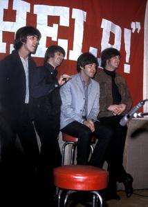 """Help!""George Harrison, Ringo Starr, Paul McCartney, John Lennon1965 United Artists** I.V. - Image 17132_0016"