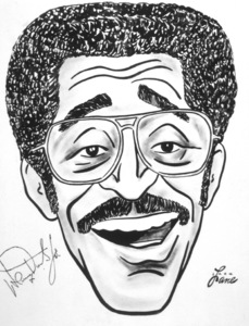 Sammy Davis Jr.1979Celebrity Caricatures © 1979 Jack Lane - Image 17150_0001