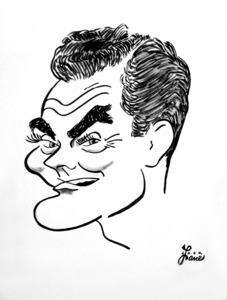 Spike Jones1953Celebrity Caricatures © 1978 Jack Lane - Image 17150_0022