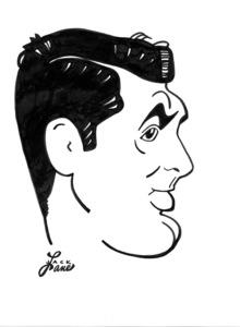 Cary GrantCelebrity Caricatures © 2000 Jack Lane - Image 17150_0037