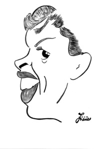 Judy GarlandCelebrity Caricatures © 2000 Jack Lane - Image 17150_0040