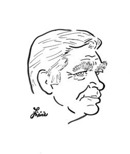 Buddy EbsenCelebrity Caricatures © 2000 Jack Lane - Image 17150_0041