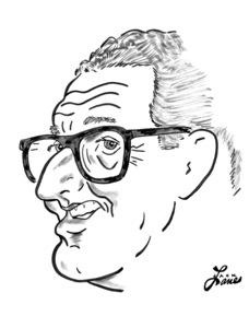 Henry KissingerCelebrity Caricatures © 2000 Jack Lane - Image 17150_0046