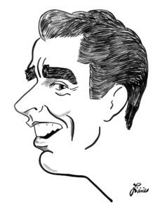 Peter LawfordCelebrity Caricatures © 2000 Jack Lane - Image 17150_0048