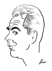 Alan LaddCelebrity Caricatures © 2000 Jack Lane - Image 17150_0050