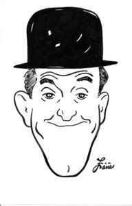 Stan LaurelCelebrity Caricatures © 2000 Jack Lane - Image 17150_0052
