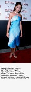 """Maxim Motel Grand Opening Party,""8/10/00. Alexis Thorpe. © 2000 Glenn Weiner - Image 17152_0106"