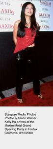 """Maxim Motel Grand Opening Party,""8/10/00.  Kelly Hu. © 2000 Glenn Weiner - Image 17152_0113"