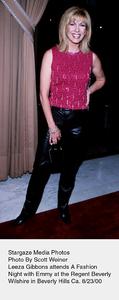 """A Fashion Night With Emmy,""Leeza Gibons.  8/23/00. © 2000 Scott Weiner - Image 17167_0100"